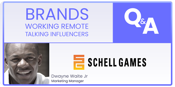brands working remote talking influencers podcast webinar grin influencer marketing with schell games